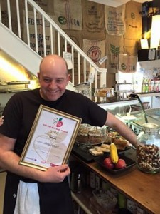 Kafe Bloc wins Eat Well Award