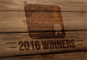 Good Food Award Winners 2016 Graphic